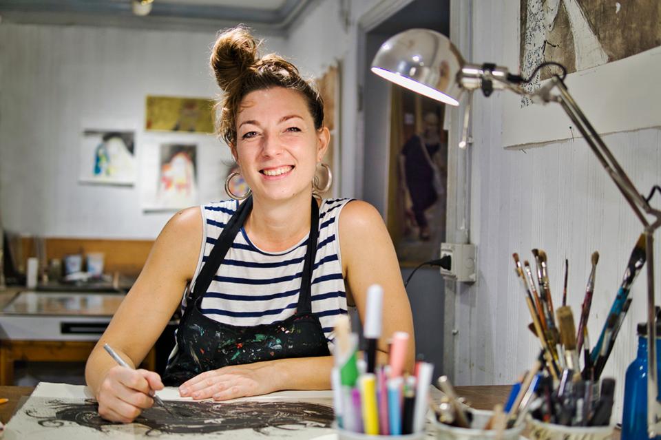 Vanessa Milan, Künstlerin